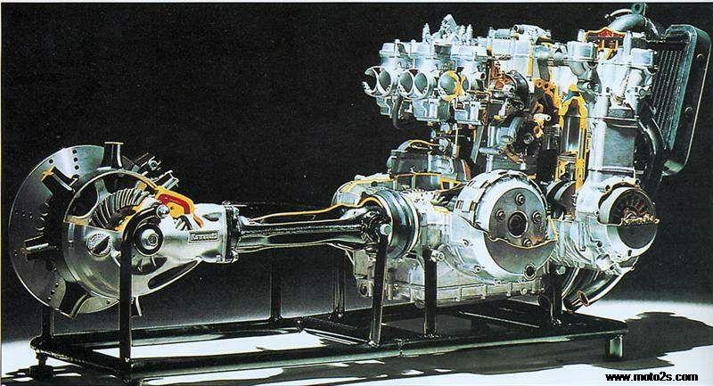 [TBQL_4184]  1984-88年Kawasaki Z 1300i | Kz1300 Wiring Diagram |  | 二手摩托车